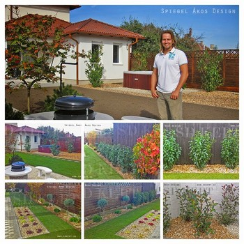 Élhető, könnyen ápolható, tökéletes kert