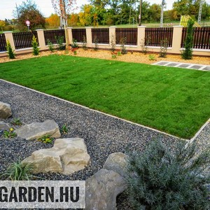 Minimal dizájn, egyszerű kert