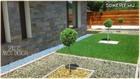 könnyű ápolhatóság, praktikusság, kertdesign