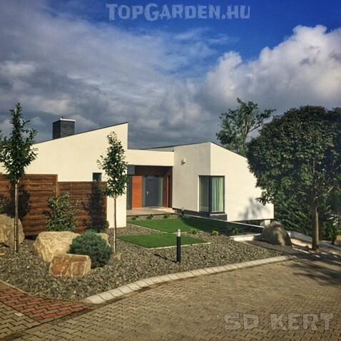 Modern kert, kertépítés