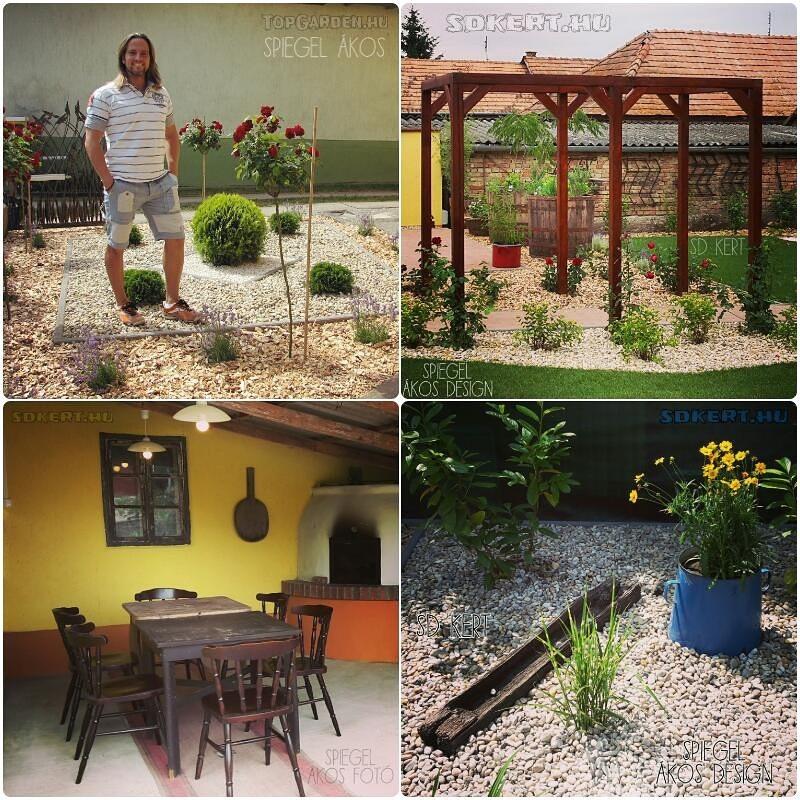Pihenőkertek, kerti megoldások